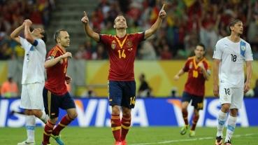 Spania le-a ascuns mingea uruguayenilor