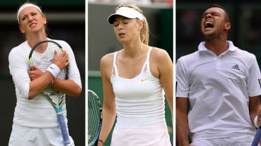 O zi nebuna la Wimbledon: sapte abandonuri din cauza accidentarilor