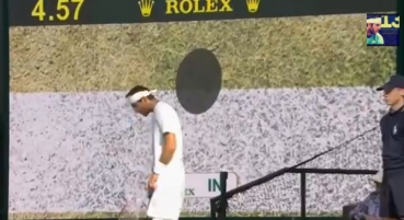 VIDEO Tie-breakul senzational din setul 4 al semifinalei de la Wimbledon, Djokovic si Del Potro
