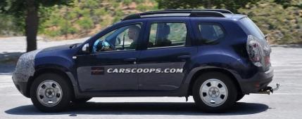 SLIDE FOTO Noua Dacia Duster facelift