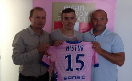 Oficial: Dan Nistor a semnat cu Evian