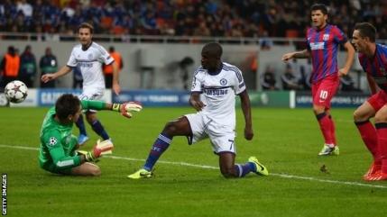 Steaua pierde cu Chelsea pe bulevardul Georgievski