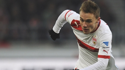 Alexandru Maxim scoate un penalty decisiv in Bundesliga