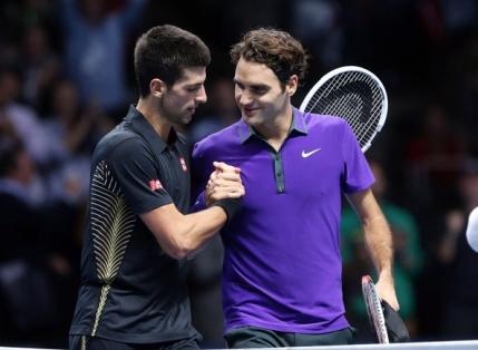 Djokovic, prima dubla consecutiva in fata lui Federer