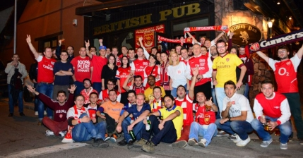Arsenal Romania Supporters Club a implinit  trei ani