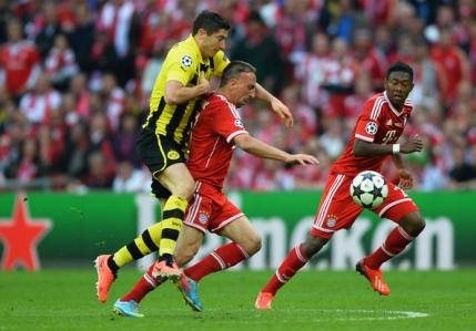 Ribery rateaza marele derby cu Borussia