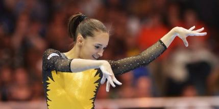 Larisa Iordache obtine medalia de argint la Stuttgart