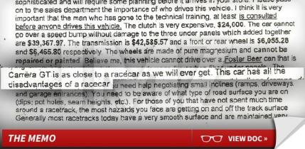 Masina mortii lui Paul Walker | Porsche a lansat un avertisment: Nu lasati masina asta de curse pe maini gresite