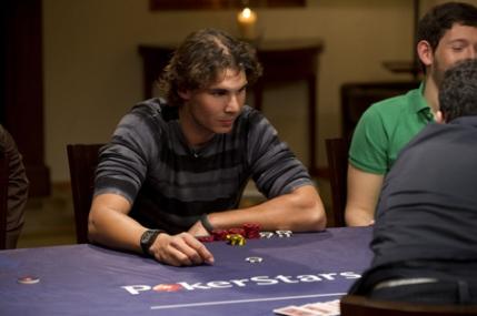 Nadal castiga primul sau turneu de poker