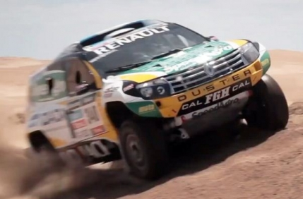 Renaultsport pregateste Dacia Duster pentru Raliul Dakar 2014 (video)