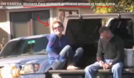 Accidentul lui Paul Walker: Presa americana a prins-o razand pe prietena sa si sustine ca familia acopera moartea