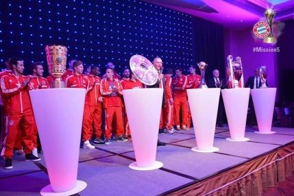 Retrospectiva sportiva 2013: Bayern a castigat tot la nivel de club