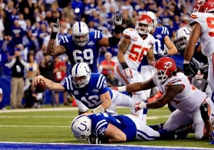 Revenire senzationala pentru Indianapolis Colts in primul meci al playoff-ului NFL