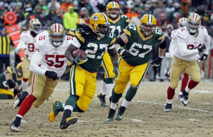 San Francisco 49ers castiga in ultima secunda in iadul inghetat din Green Bay