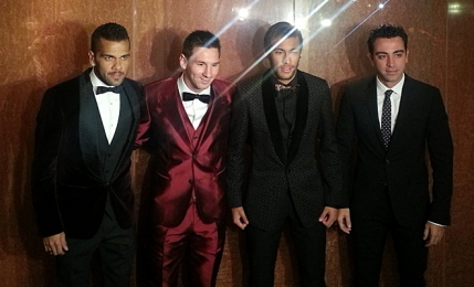 FOTO SLIDE Costumele lui Messi la Balonul de Aur