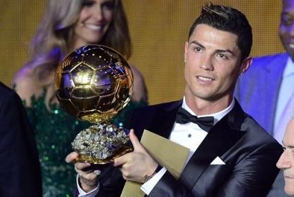 Ronaldo a luat Balonul de Aur 2013