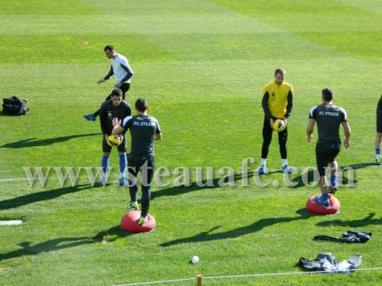 Steaua a efectuat primul antrenament la Marbella. Pintilii s-a antrenat separat
