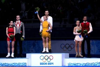 Dubla pentru rusi in proba de perechi la patinaj artistic