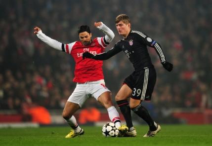 Arsenal cauta revansa in fata lui Bayern dupa eliminarea din sezonul trecut