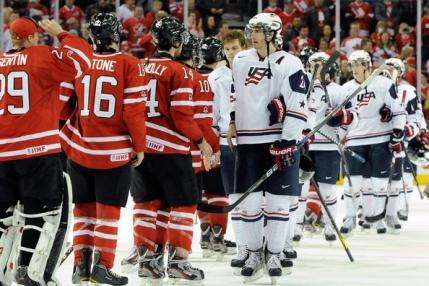Canada si SUA completeaza tabloul semifinalelor turneului olimpic de hochei