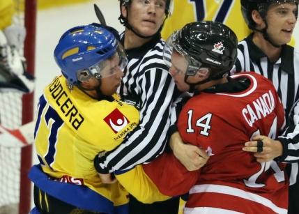 Canada castiga aurul olimpic la hochei