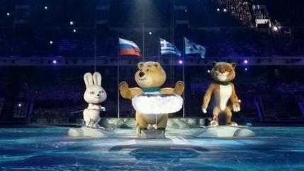 Jocurile Olimpice de la Sochi au fost inchise