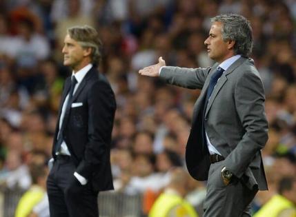 Tensiune la cote inalte intre Mourinho si Mancini