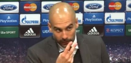 Pep Guardiola il invata pe un jurnalist bunele maniere: Uita-te la mine cand vorbesc cu tine (video)