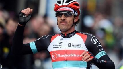 Fabian Cancellara castiga Turul Flandrei al doilea an consecutiv si devine Leu