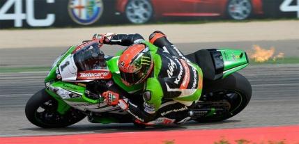 Superbike: Demonstratie de forta din partea Kawasaki pe Motorland Aragon