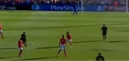 Supergol al lui Munir de la mijlocul terenului pentru Barcelona