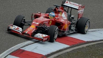 Ferrari scoate capul in China prin Alonso
