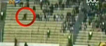 O fantoma pe un stadion din Bolivia?