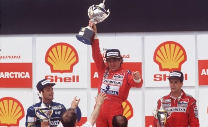 Senna, legenda braziliana. Cifrele unei cariere impresionante