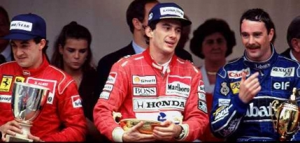 Senna contra Mansell la Spa in 1987. Cei doi aproape de bataie la boxe