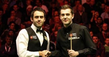 FRAME cu FRAME Finala Campionatului Mondial de snooker:  Ronnie O'Sullivan - Mark Selby
