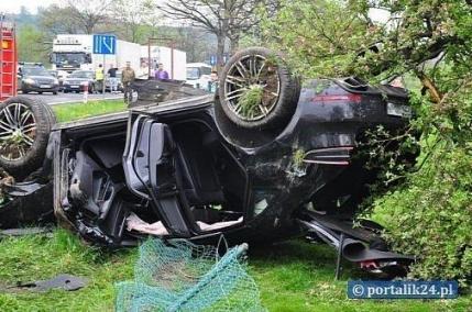 Primul accident cu un Porsche Macan (foto)