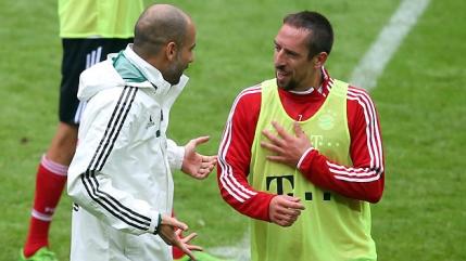 Ribery critica pe fata sistemul lui Guardiola