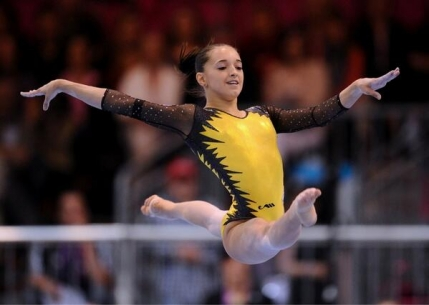 Aur, argint si bronz pentru Larisa Iordache la Europenele de Gimnastica