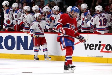 New York Rangers si-a dublat avantajul in fata lui Montreal Canadiens