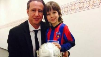 Reghecampf confirma ca a plecat de la Steaua. Mesajul pentru suporteri
