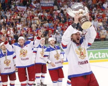 Rusia e noua regina a hocheiului mondial dupa esecul de la Soci
