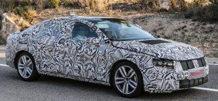 Volkswagen va prezenta noul Passat in iulie cu un motor diesel bi-turbo de 240cp