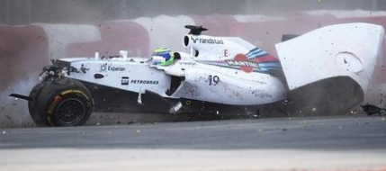 Felipe Massa, impact violent in Canada (video)