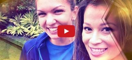 Simona Halep e cea mai tare, nu si-a facut niciodata un selfie: A selfie?!?  (video)