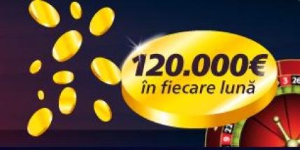 120.000 € va asteapta lunar in Cazinoul Sportingbet. O oferta noua in fiecare zi!