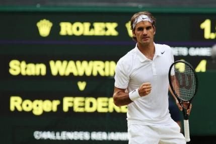Federer continua cursa spre al 18-lea titlu de Mare Slem