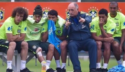 Scolari: Brazilia are o mana pe Cupa Mondiala