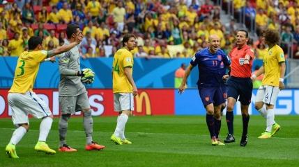 MINUT cu MINUT CUPA MONDIALA 2014 Brazilia-Olanda 0-3