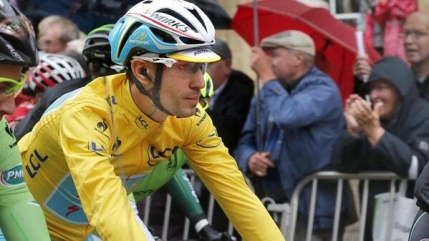 Vincenzo Nibali scapa de povara tricoului galben in Turul Frantei